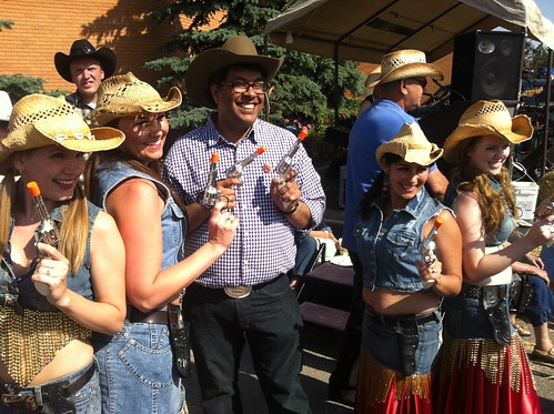Double Guns! | by Mayor Nenshi and Team