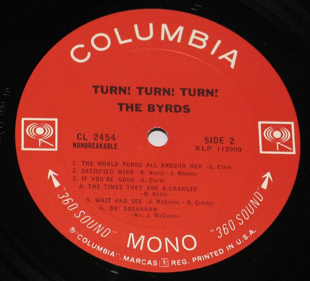 Byrds Turn Turn Turn MONO