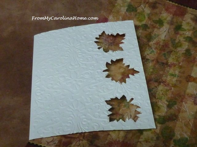 Autumn Cards at From My Carolina Home