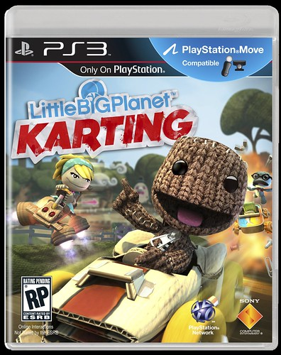 LittleBigPlanet Karting box art for PS3 | by PlayStation.Blog