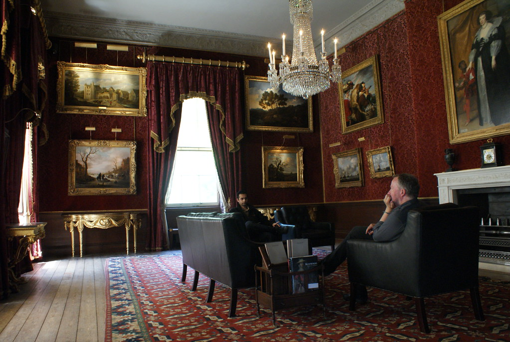 Kenwood House, la salle avec les toiles les plus impressionnantes.
