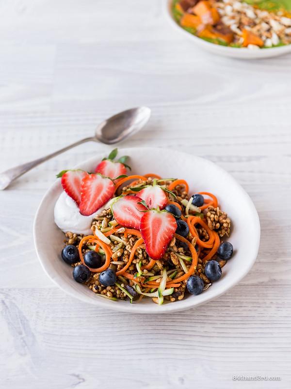 Carrot & Zucchini Muesli Bowl