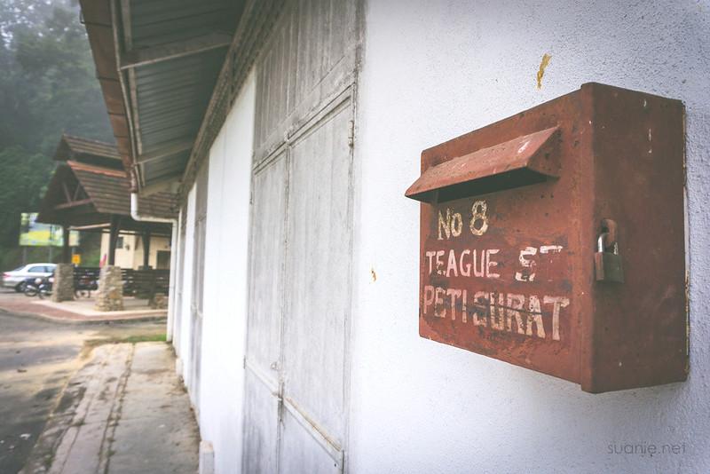 Sungai Lembing, Pahang - postbox