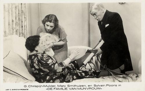 Mary Smithuysen, Gusta Chrispijn-Mulder, Sylvain Poons, De familie van mijn vrouw