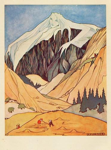 Rie Cramer sprookjes van Anderson 1915 ,ill de Ijsjonkvrouw