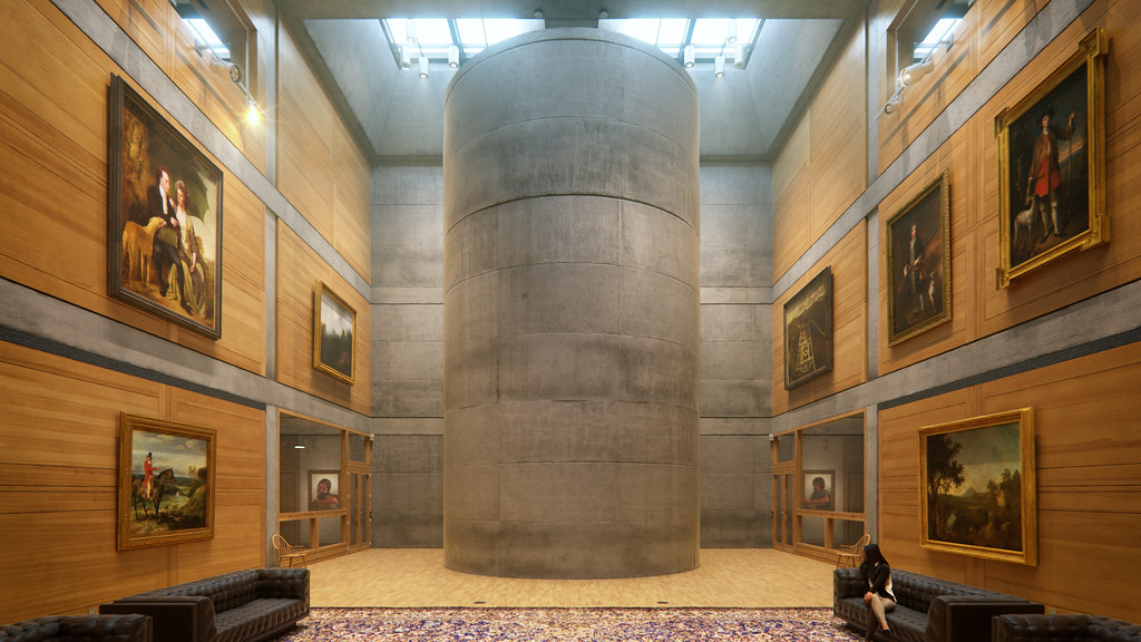 Louis Kahn's Yale Center for British Art
