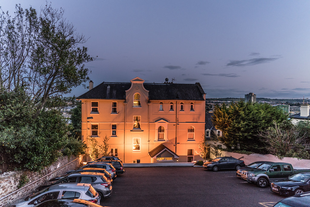 GABRIEL HOUSE HOTEL AT NIGHT [ST. LUKE'S AREA OF CORK]-120632