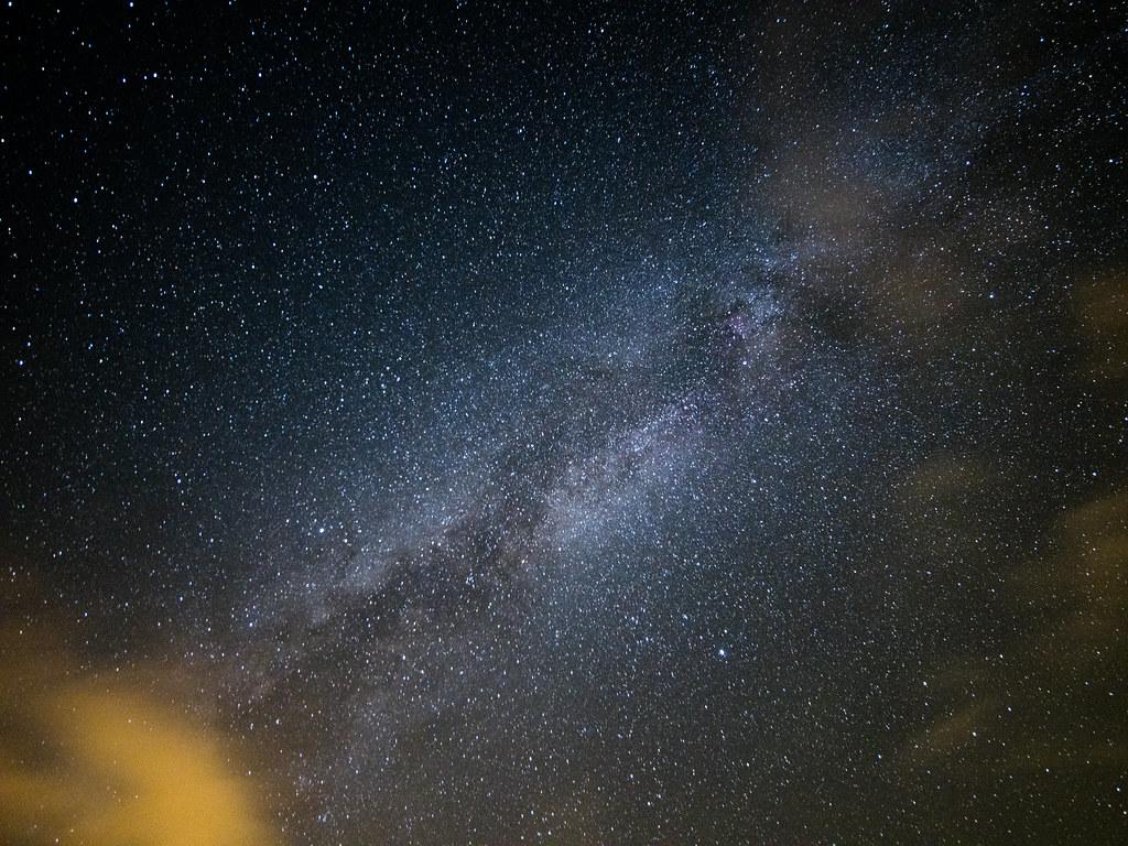 Pentax 645Z 六十石山之撿到的銀河