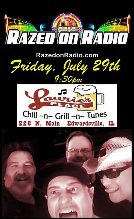 Razed On Radio 7-29-16