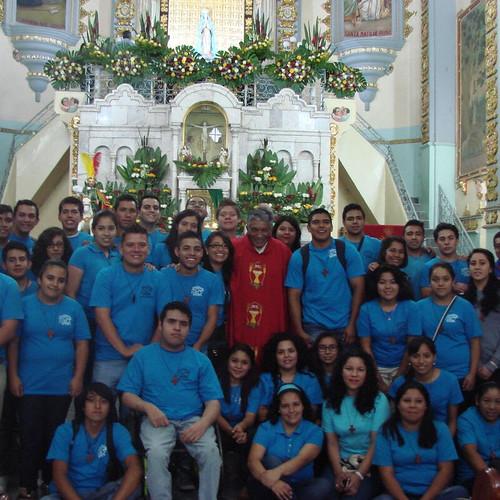 Fiesta patronal en Tonatico, 25 de julio 2016