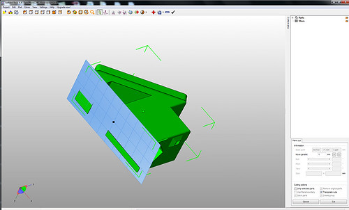 NetFabb Basic Z Cut #1