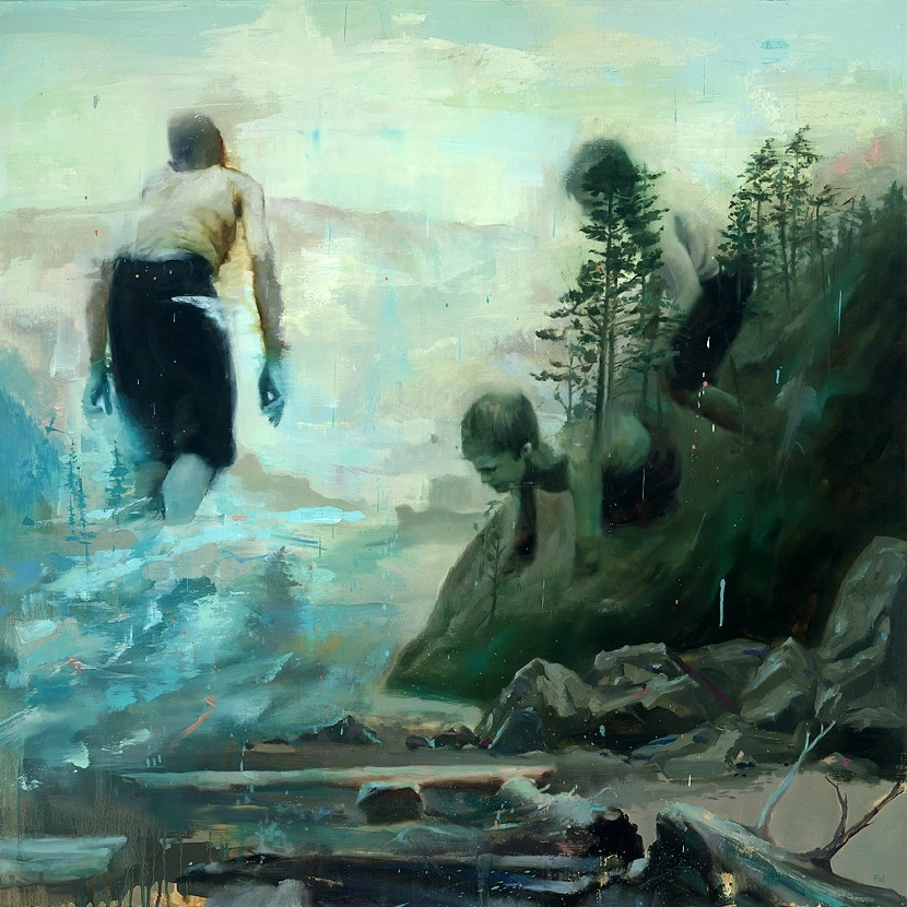 Paintings by Joshua Flint