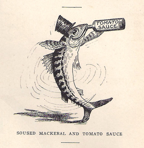 Soused Mackerel and Tomato Sauce | by AmethystA2