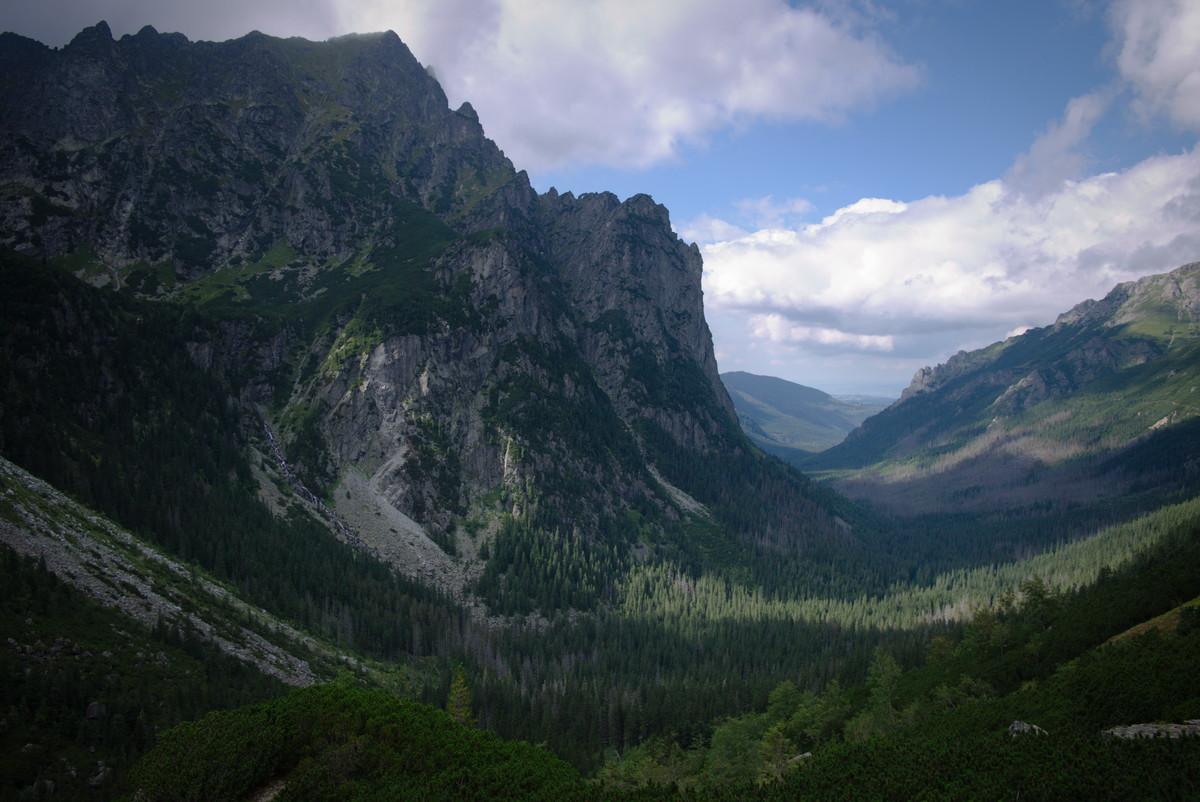 Tatry Słowackie Dolina Białej Wody Młynarz