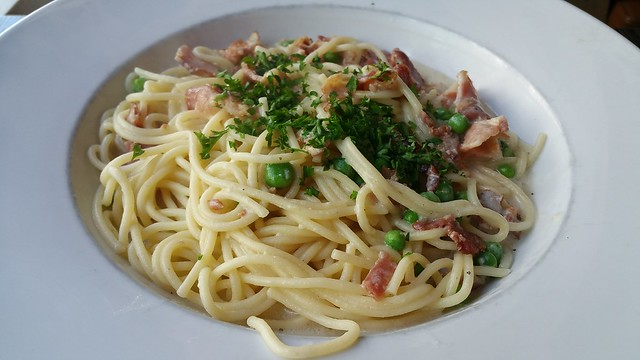 2016-Sep-20 - Basil Pasta Bar (davie) - Spaghetti Carbonara