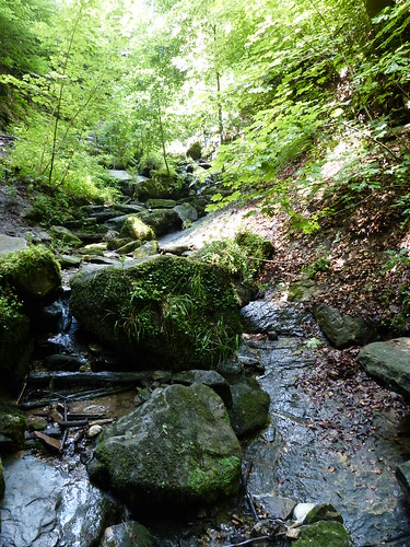 Heslacher Wasserfälle - a waterfall in Stuttgart