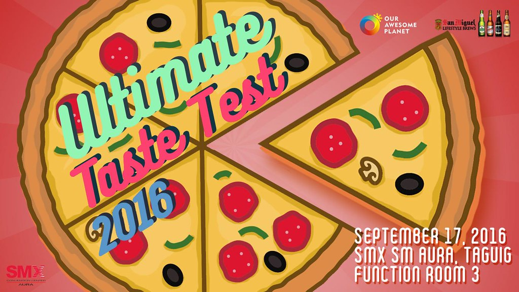 Buy your Ultimate Taste Test 2016 Tickets Now!