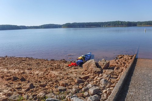 Paddling to Ghost Island in Lake Hartwell-30