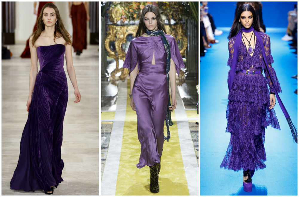 Purple Fall 2016 fashion trends