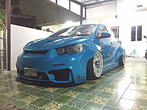 The Body Kit And Lip Thread Page 17 Chevy Sonic