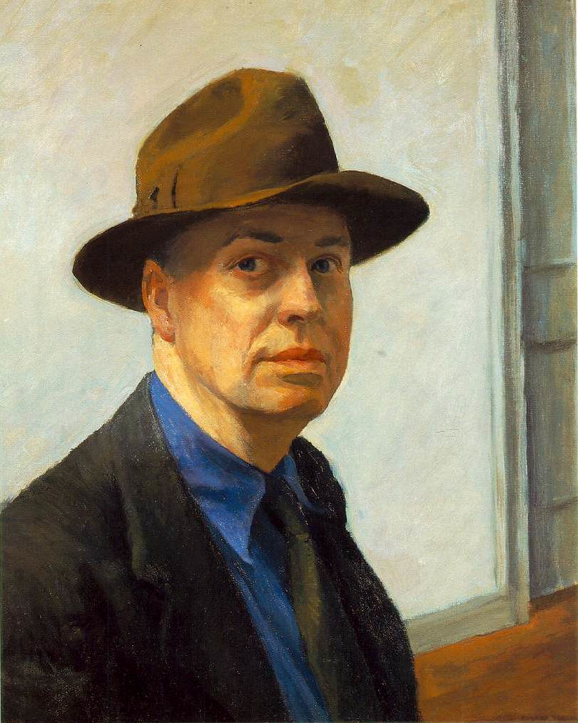 hopper.self-portrait
