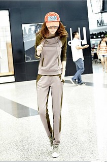 Sport Style Women's Hooded Top Pant Suit | by Buytrends2012