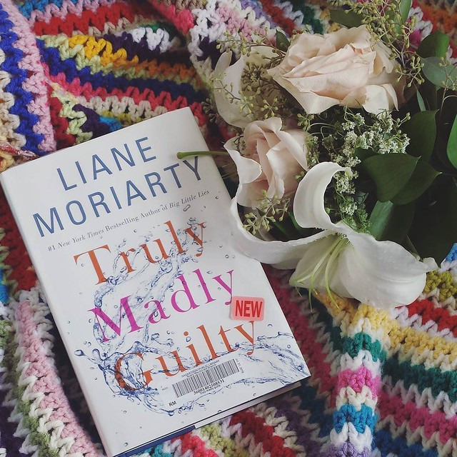enjoying a lazy day after staying out late celebrating my brother's wedding last night. My daughter caught the bouquet... she's thrilled about it haha but I'm not allowing her to be next. #bookstagram #caughtthebouquet #lazyday