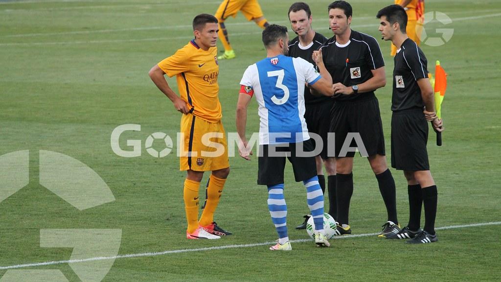 Hércules-Barça B (1-3) Fotos: J. A. Soler
