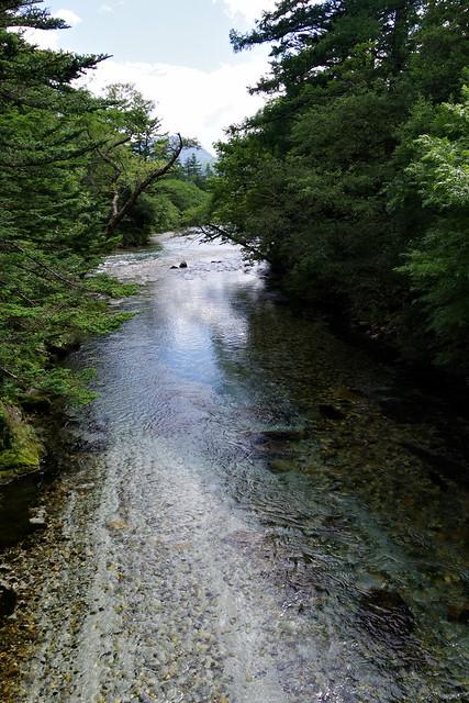 Azusa-gawa river 梓川 Kamikochi 2016 summer 47