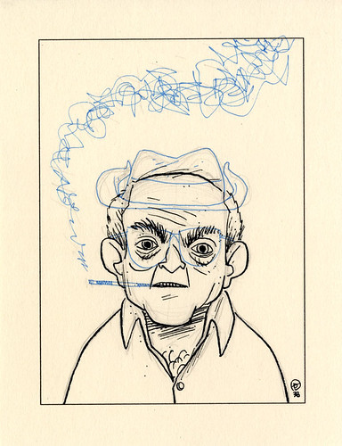 FOURTH :: Botched Ralph Steadman #1 | by Dustin Harbin