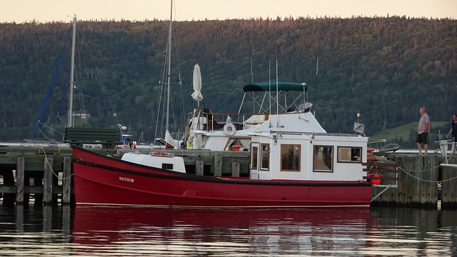 In Baddeck Harbour