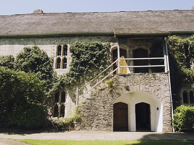 Buildings surrounding Dartington Hall, Devon.