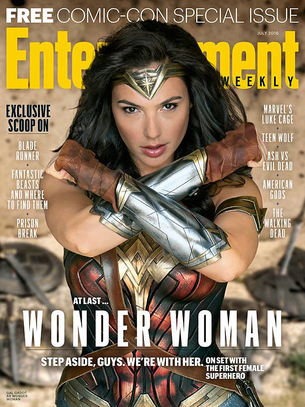 Wonder Woman EW Cover