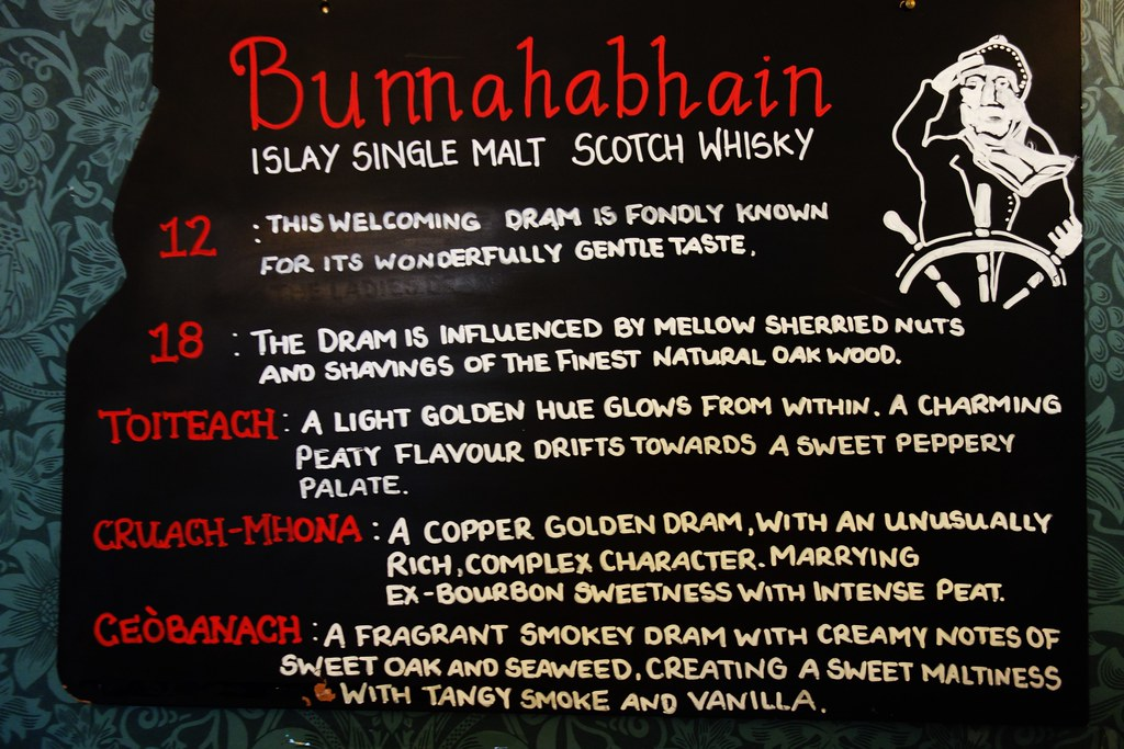 Bunnahabhain Single Malts