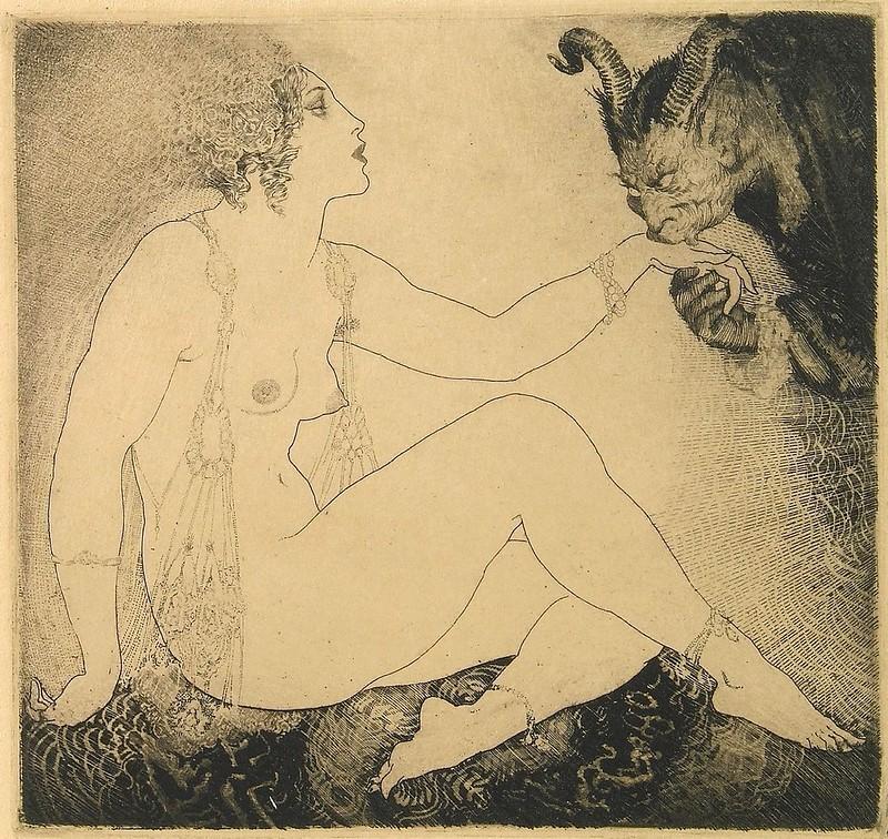Norman Lindsay - Bargains, 1927