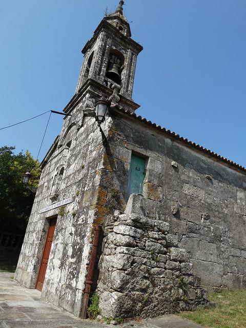 Iglesia de San Amedio de Bamiro de Vimianzo