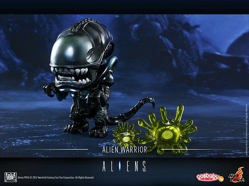 Alien Warrior Cosbaby 1
