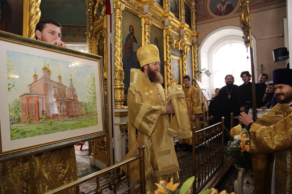 В храме Спаса Нерукотворного образа в Большом Свинорье встретили престольный праздник