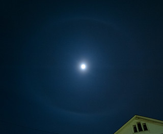 22 degree halo of the moon | by chuckthewriter