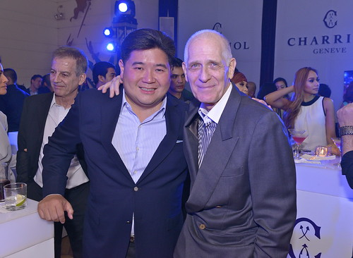 Stores Specialists, Inc. Executive Vice President Anton Huang with Peter Jentes | by chuvaness