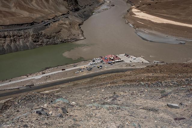 Indus - Zanskar Sangam (confluence)