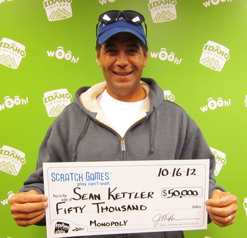 Sean Kettler - $50,000 Monopoly | by Idaho Lottery