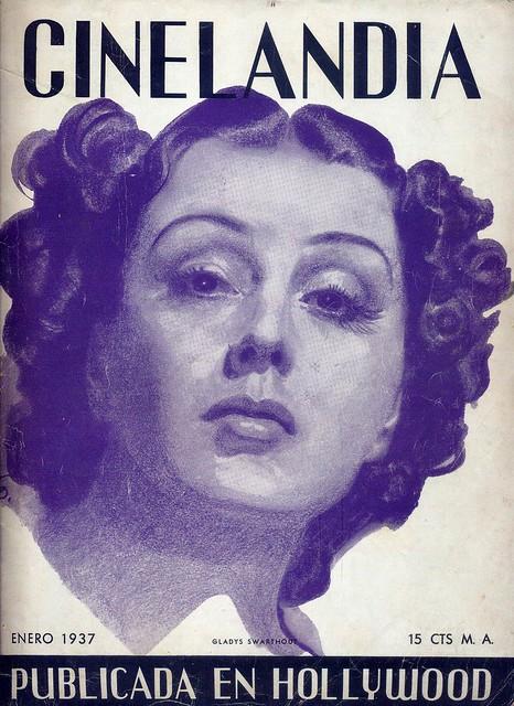 Cinelandia, Tomo XI Nº 1, Janeiro 1937 - capa