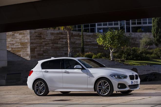 [新聞照片一] BMW 1系列五門掀背跑車搭載M款跑車化套件