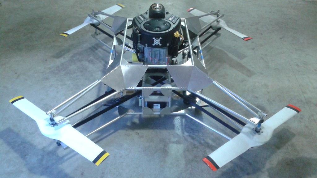Elicottero A Due Eliche : Perchè i droni hanno quattro eliche mentre gli elicotteri