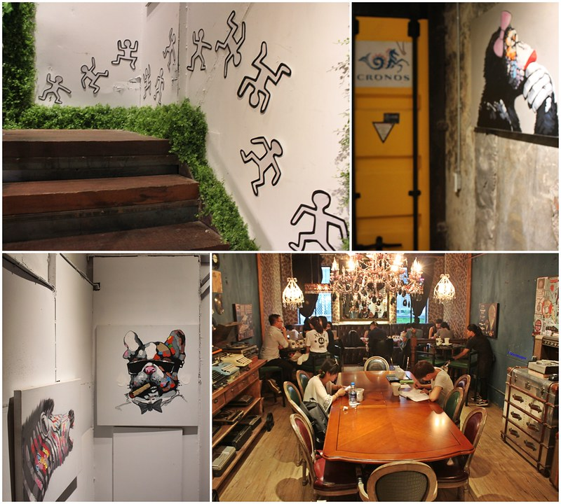 奧蘿茉OROMO -台北咖啡館-不限時間免費網路 (2)
