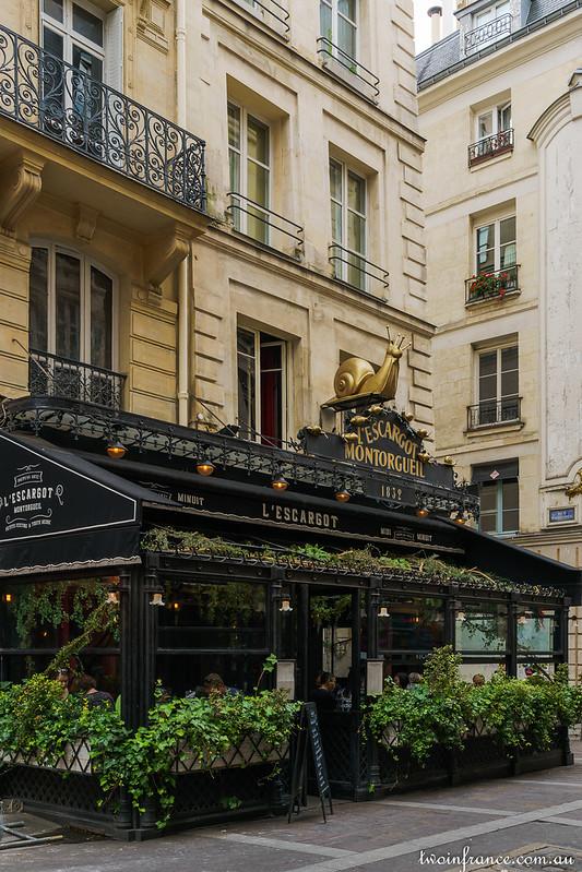 L'Escargot - Rue Montorgueil