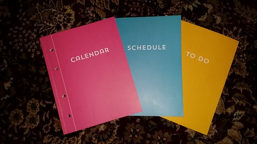 Recollections Planner Booklets
