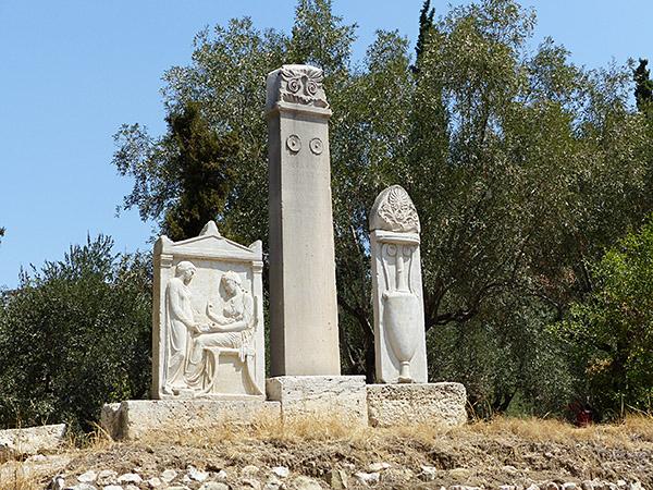 le cimetière du céramique 9
