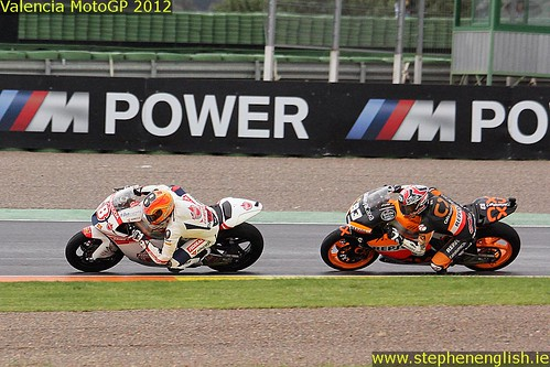 Gino Rea Marc Marquez Valencia Moto2 Race 2012 | by stevie.english